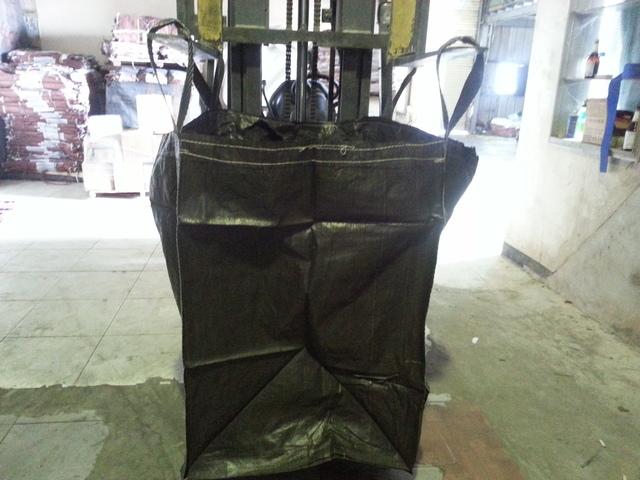 黑色/綠色再生料用袋